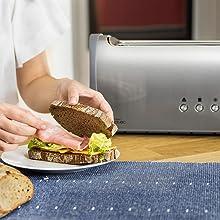 Autocentrado para el mejor tostado
