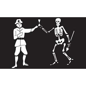 pirate bartholomew roberts flag, black bart flag, great pirate roberts, pirate flags, skeleton flags