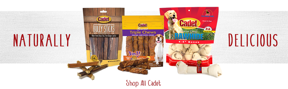 cadet naturally delicious dog treats