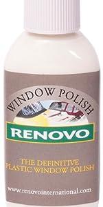 Renovo, 50ml Kunststoff-Politur, transparent,