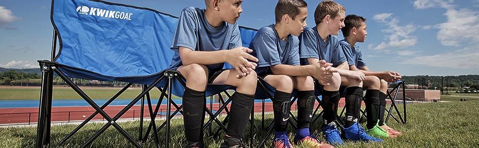 Kwik Goal 9b906 9b906 6 Seat Kwik Bench Soccer Amazon