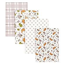 Amazon Com Trend Lab Crib Sheet Forest Animal Baby