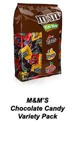 A crowd-pleaser is a variety pack of MARS Chocolate Fun Size Candy Bars.