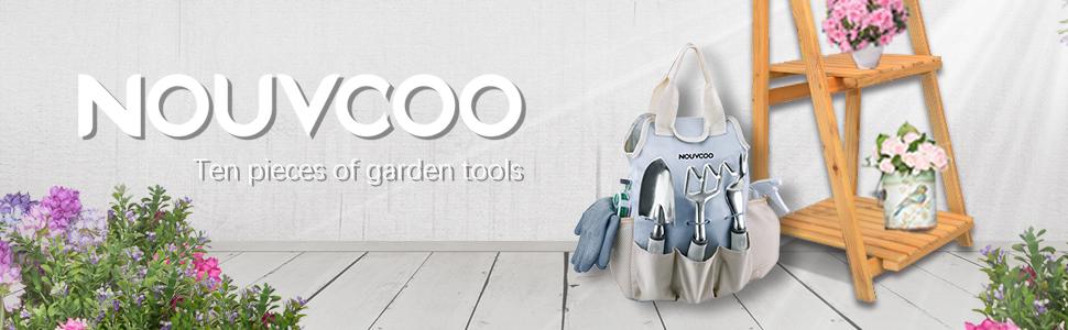 NOUVCOO Garden Tool Set