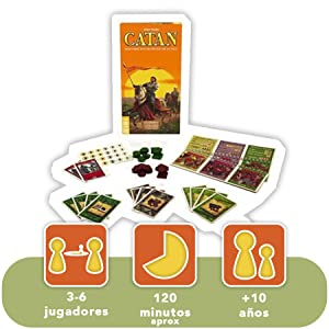 CATAN Piratas y Exploradores Juego de Mesa, Multicolor (Devir BGPIREX): Amazon.es: Juguetes y juegos