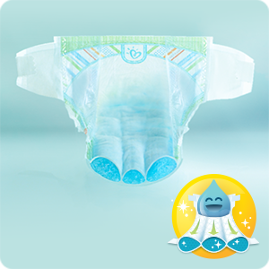 Couches Pampers Premium Protection New Baby