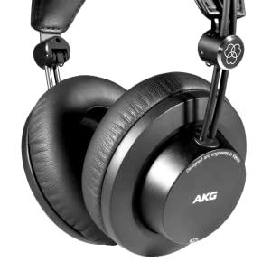 AKG K245 Over Ear Closed Back Lightweight Folding Studio Headphones