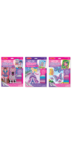 Amazoncom Melissa Doug Princess Design Activity Kit 9 Double