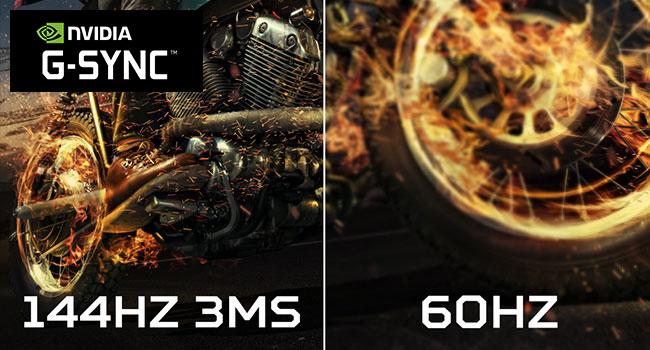 144Hz NVIDIA G-Sync
