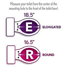 bemis, church, kohler, toilet, seat, elongated, oblong, round, u-shaped, oval, bathroom, shape