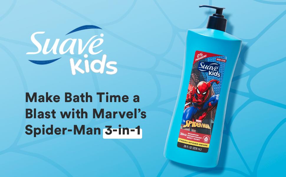 Make Bath Time a Blast with Marvel's Spider-Man.