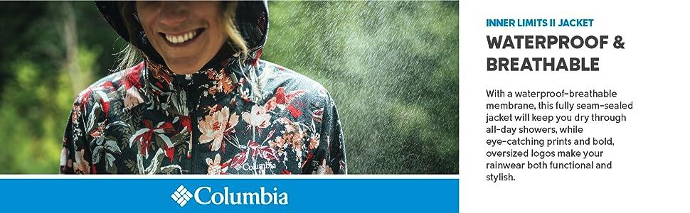 Columbia Women's Inner Limits II Rain Jacket