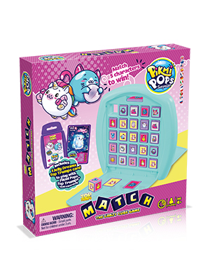 pikmi pops, top trumps match, top trumps, board game, game, family game, travel game