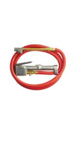 Milton industrial tire inflator gauge pressure gauge analog air pneumatic air compressor