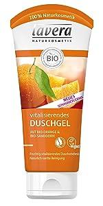 lavera Vitalisierendes Duschgel Bio-Orange