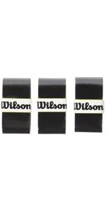 One Size WILSON PRO OG Sensation 12PK BK Overgrip Unisex Adulto Black