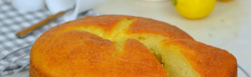 Lázaro Mezcla para elaborar Bizcocho, Muffins o Cupcakes de Limón Fácil 300 gr, Bizcocho esponjoso y jugoso para elaborar en Casa, con ralladura de ...