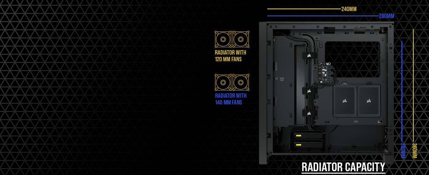 iCUE 4000D Airflow Mid-Tower ATX PC Case