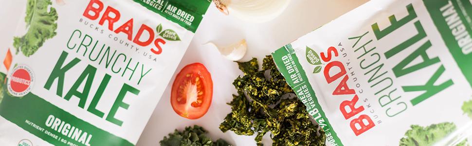 crunchy kale top