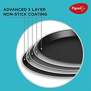 5 Layer non stick coating