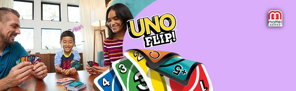 Mattel Games-UNO Flip Juguete, (GDR44)
