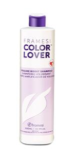 framesi, color lover, color lover colume boost, volume boost shampoo, volume shampoo,