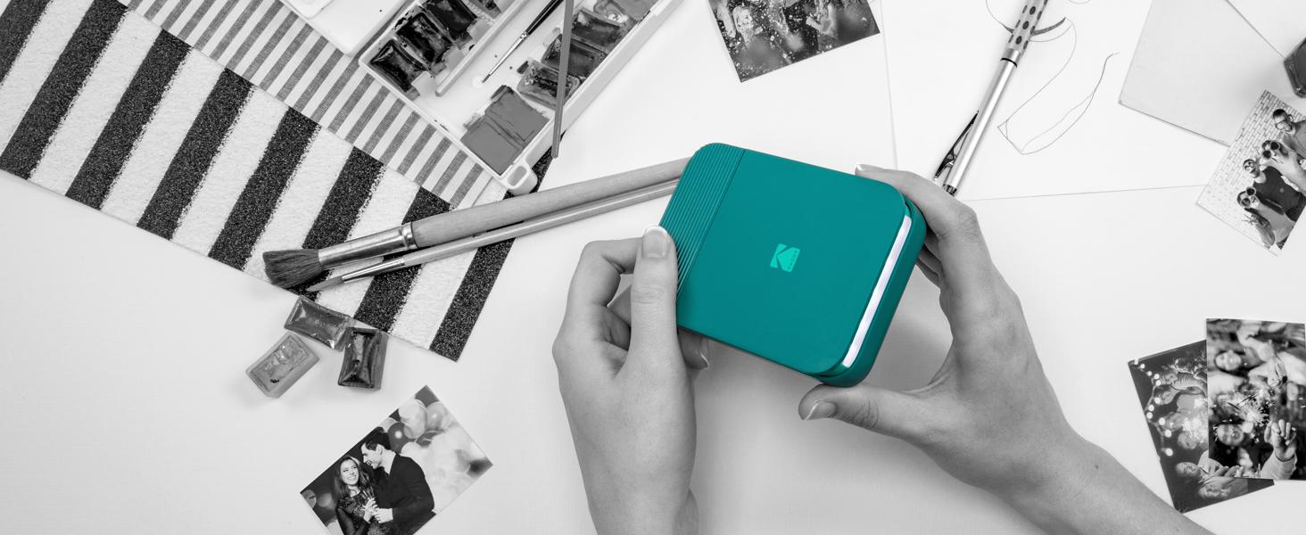 Kodak Smile Printer power on