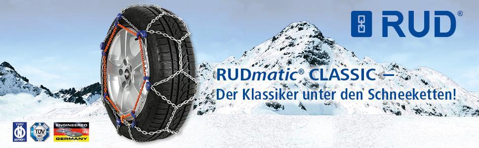 RUD Schneeketten RUDmatic CLASSIC 1 Paar 0005 Art. 48404 Gr