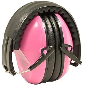 Pink earmuff