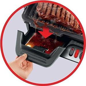 Rowenta gr3060 comfort bistecchiera con 3 posizioni di - Cucinare senza grassi ...