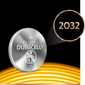 Duracell Specialty 2032 Lithium Knopfzelle 3 V Elektronik