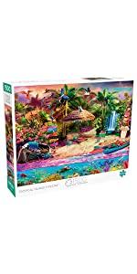 Tropical Island Holiday - 1500 Piece Jigsaw Puzzle