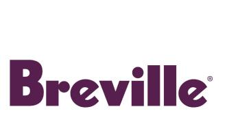 Breville logo, breville aubergine logo, Breville Australia logo
