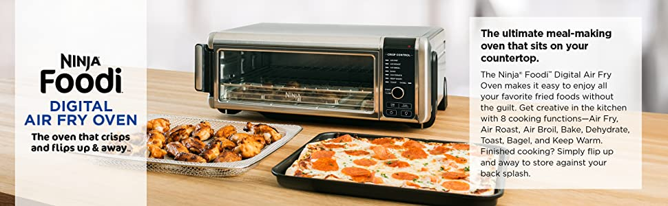 SP101, Ninja, Foodi, Digital, Air, Fry, Oven, Toaster Oven, top banner