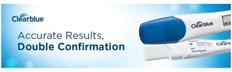 Amazon.com: Clearblue Combo para pruebas de embarazo, 4 ct ...
