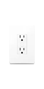 Kasa Smart Wi-Fi Power Outlet, 2-Sockets