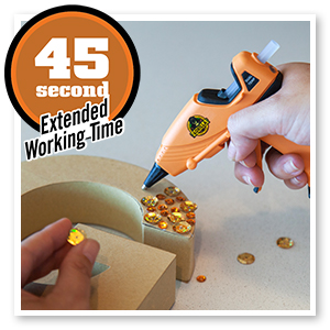45 second extended working time