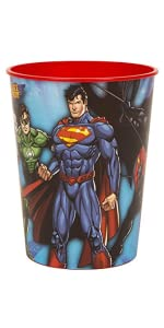 Justice League Party Bags Pack of 8   NEW