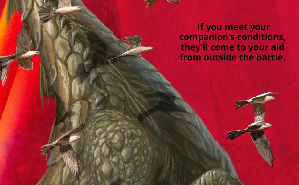 Ikoria: Lair of Behemoths, companion, mutate