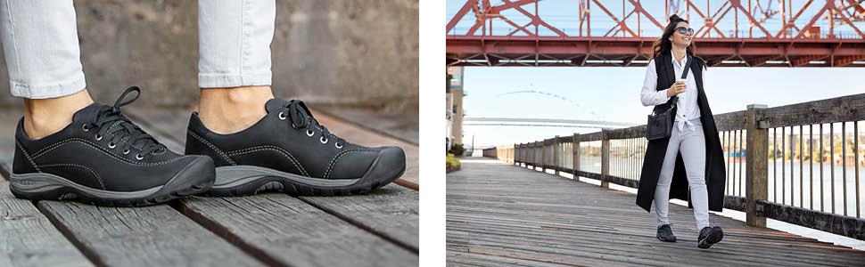 KEEN Womens Presidio Ii Sneaker