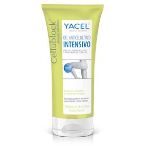 gel anticelulitico intensivo cellublock de Yacel