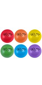 Champion Sports Rhino Skin Basic Dodgeball Set, 6 Inch