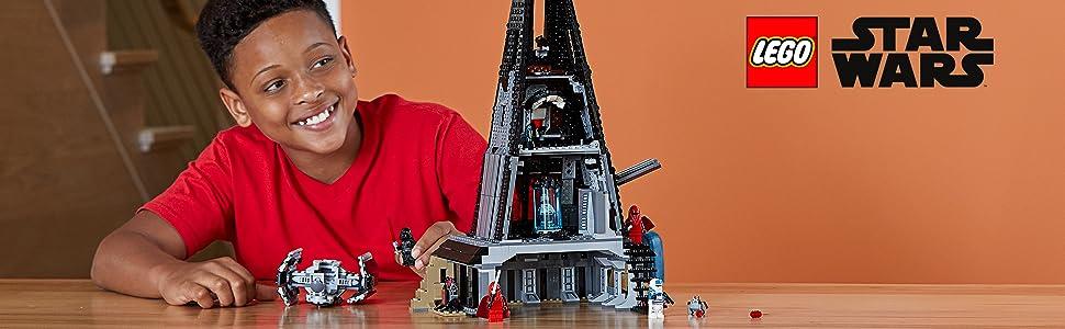 Darth Vader, Bacta Tank Darth Vader,  2 Royal Guards and an Imperial Transport Pilot