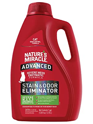 advanced stain and odor remover