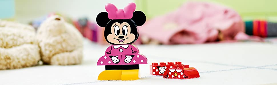 LEGO DUPLO Disney - Mi Primer Modelo de Minnie, Juguete Preescolar ...