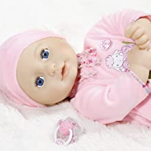 Baby Annabell doll is just like a real baby