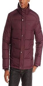 dc2b4165 Tommy Hilfiger Men's Nylon Puffer Jacket · Tommy Hilfiger Men's Classic  Hooded Puffer Jacket · Tommy Hilfiger Men's Nylon Two Pocket Hooded Puffer  Jacket ...