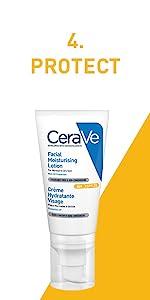 CeraVe; AM; Face; Lotion; Day; Cream; Morning; Hyaluronic Acid; Ceramides; Dry; Skin; Moisturiser