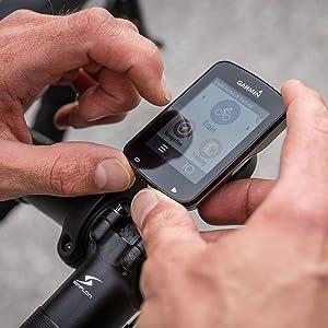 Garmin Edge 820 Bundle - Ordenador para Bicicletas, Resolución de pantalla 200 x 265 píxeles, Pantalla táctil, Receptor de alta sensibilidad, Negro: Amazon.es ...