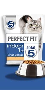 Perfect Fit; croquette; chat; stérilisé; chat d'intérieur